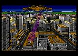 Alternate Reality: The City Atari 8-bit Alien ship arrives and begins abducting people with a beam of light