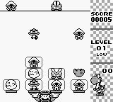 Yoshi Game Boy First level in progress.
