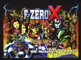 F-Zero X Nintendo 64 The intro screen.