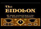 The Eidolon Atari 8-bit Title Screen