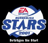 The F.A. Premier League Stars 2001  Game Boy Color Title Screen (German)