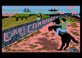 Lords of Conquest Atari 8-bit Title