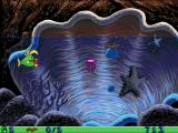 Freddi Fish and Luther's Water Worries Windows Oops, that bubble had a jellyfish in it!