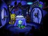 Intro: Pajama Sam's playing with his toys in his room