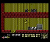 Rambo III MSX Starting out in the fort