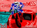 Motorbike Madness ZX Spectrum Loading screen