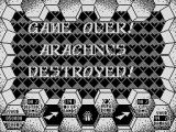 Amaurote Atari 8-bit Game over!