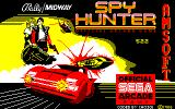 Spy Hunter Amstrad CPC Loading screen