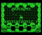 Amaurote MSX Title screen