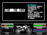 Motorbike Madness ZX Spectrum Level loading