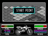 Motorbike Madness ZX Spectrum Game start