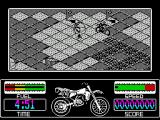 Motorbike Madness ZX Spectrum On the move