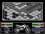 Motorbike Madness ZX Spectrum In a bit of trouble