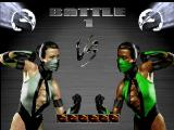 Mortal Kombat Trilogy Nintendo 64 VS screen.