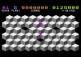 Slinky Atari 8-bit Game Over