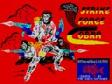 Strike Force: Cobra ZX Spectrum Title screen