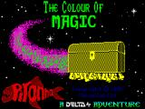 The Colour of Magic ZX Spectrum Loading screen