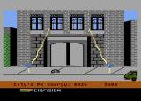 Ghostbusters Atari 8-bit Remember, don't cross the beams!