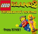 LEGO Island 2: The Brickster's Revenge Game Boy Color Title screen.