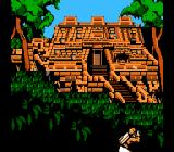 Rocket Ranger NES The Rocket Ranger shoots at snipers hiding in a temple