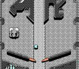 Pinball Quest NES A stone guardian