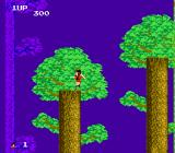 The Legend of Kage NES Kage has a mighty jump to fly among the trees