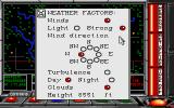 F-16 Combat Pilot Amiga Weather factors