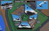 F-16 Combat Pilot Amiga Mission selection: pass all 5 missions to unlock Operation Conquest