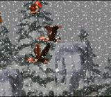 Donkey Kong Country SNES  A snow storm is hindering your view