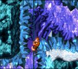 Donkey Kong Country SNES Frozen ropes are difficult to climb