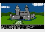 The Quest Atari 8-bit Outside the Castle