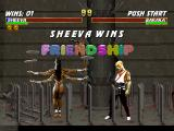 Mortal Kombat Trilogy PlayStation Sheeva seems like to improve her balance with those 4 swinging plates seen during her Friendship...