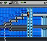 The Adventures of Rad Gravity NES The section is marked for different gravity, and functions like an elevator