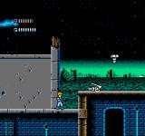 Journey to Silius NES Robots attack out of the ruins of the city