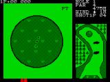 Konami's Golf ZX Spectrum Putting is more precise, affected by the slope