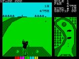 Konami's Golf ZX Spectrum Sent the ball flying