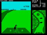 Konami's Golf ZX Spectrum On the first tee