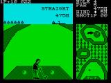 Konami's Golf ZX Spectrum Need to find the small patch here