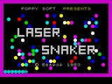 Laser Snaker ZX Spectrum Title screen