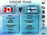 Actua Ice Hockey Windows Team selection