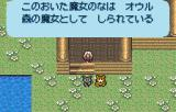 Romancing SaGa WonderSwan Color The ranger character can communicate with animals