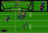 Joe Montana Football Genesis Use the passing window to direct your passes