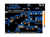 Time Bandit TRS-80 CoCo The timegates - select your world