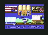 North & South Commodore 64 Main Menu