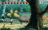 Akimbo: Kung-Fu Hero Windows The poor rhino gets his head stuck in a tree