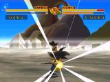 Dragon Ball GT: Final Bout PlayStation Size matters not, as Little Goku is about to show his full-grown counterpart.