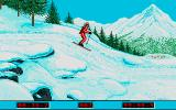 Winter Challenge: World Class Competition Atari ST Biathlon: heading towards the targets
