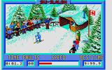 Winter Challenge: World Class Competition Atari ST Slalom