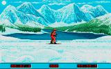 Winter Challenge: World Class Competition Atari ST Biathlon: Lakeside