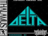 Delta Patrol ZX Spectrum Loading screen